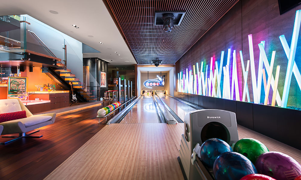 4 Amazing At Home Bowling Alleys Ruhm Luxury Marketing
